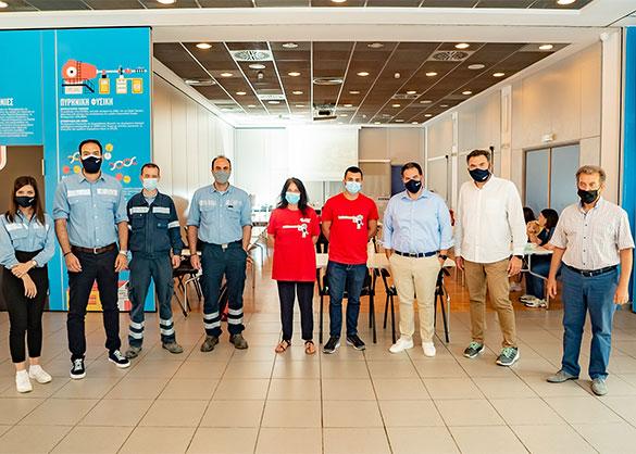Το εργοστάσιο ΤΙΤΑΝ Ευκαρπίας υποδέχθηκε τους ROBONERDS σε ένα διαδραστικό εκπαιδευτικό διήμερο που ενθάρρυνε την καινοτομία, την εξερεύνηση και τον αυτοματισμό